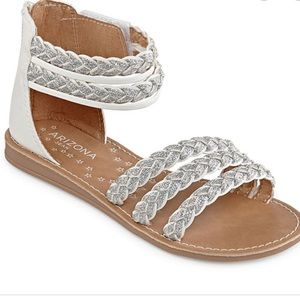 Arizona Little Kids Girls Geneva Gladiator Sandals